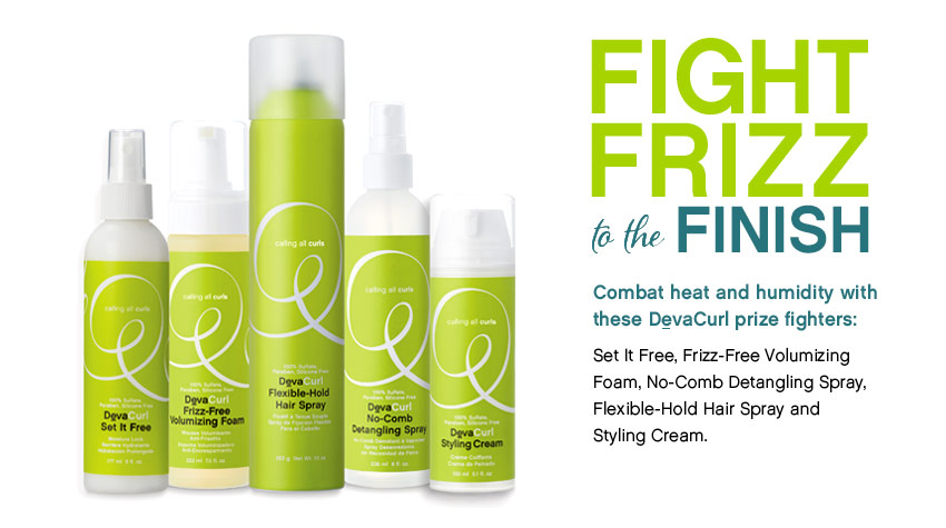 DevaCurl FightFrizz styling products